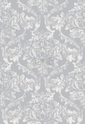 Vintage baroque ornamented background Vector. Royal luxury texture. Elegant decor design with old grunge styles. Pastel color - starpik