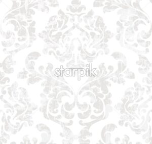 Vintage baroque pattern Vector. Victorian ornament decor. Royal luxury texture background - starpik