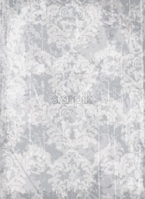 Vintage ornamented background Vector. Royal luxury texture. Elegant decor design with old grunge effect - starpik
