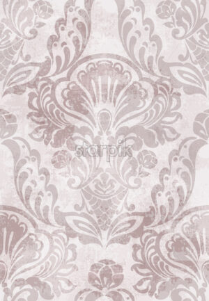 Baroque texture pattern Vector. Floral ornament decoration. Victorian engraved retro design. Vintage fabric decors. Luxury fabric - starpik