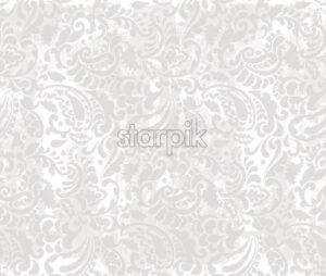 Vintage abstract floral pattern Vector. Retro style texture decor - starpik