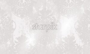 Vintage ornament pattern Vector. Baroque rococo texture luxury design. Royal textile decors. Glossy shiny background - starpik