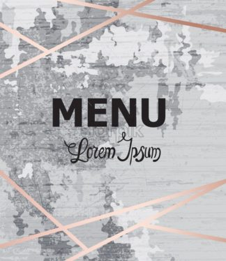 Abstract menu grunge modern background Vector. Rustic concrete wall decor texture. Painted background template - starpik