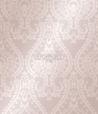 Arabic ornament pattern background Vector. Blue glossy color decor - starpik