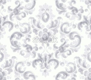 Classic elegant ornament pattern watercolor vector. Beige delicate color texture - starpik