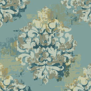 Baroque texture pattern. Floral decoration ornament. Vector - Starpik Stock