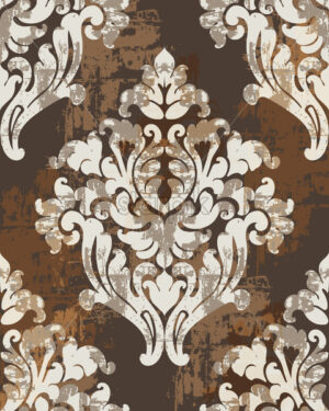 Classic antique style ornaments. Victorian luxury texture. Vector - Starpik Stock