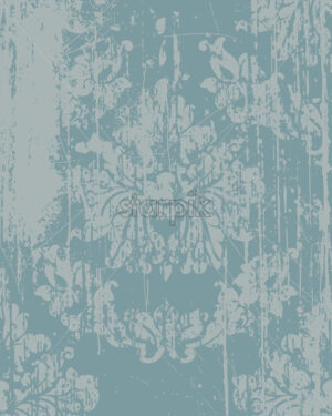 Elegant baroque pattern. Luxury imperial decoration. Vector - Starpik Stock