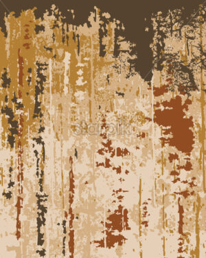 Old wallpaper texture. Peeling paint. Layers of different bright colors. Vector - Starpik Stock