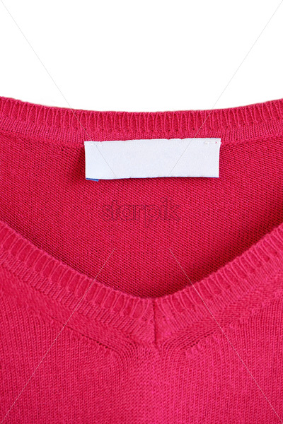 Place for logo on a red sweater - Starpik Stock