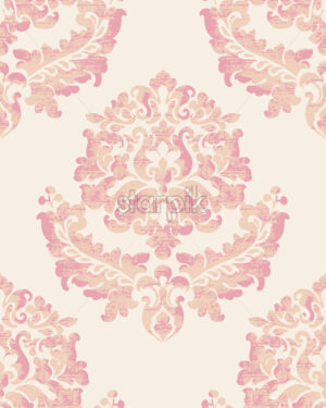 Royal decor. Luxury vintage ornament pattern. Baroque design. Vector - Starpik Stock