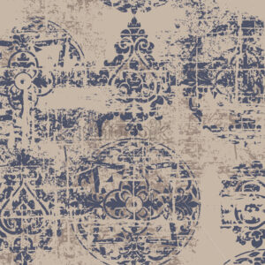 Royal luxury texture background. Vintage grunge baroque pattern. Vector - Starpik Stock