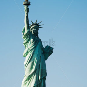 Statue Of Liberty National Monument in the New York City, USA - Starpik Stock