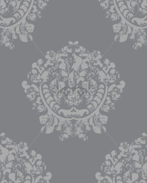Vintage baroque background. Luxury texture. Elegant decoration. Vector - Starpik Stock