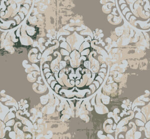 Vintage classic decoration background. Baroque design. Vector - Starpik Stock