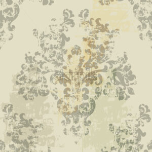 Vintage decoration. Luxury background texture. Floral decorations. Vector - Starpik Stock