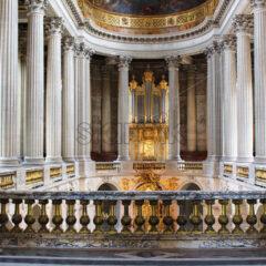 PARIS, FRANCE – SEPTEMBER 12, 2015: View on palace of versailles interiors - Starpik Stock