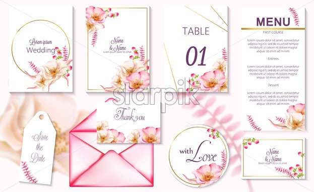 Tips: How to make a wedding invitation more romantic in Adobe Illustrator
