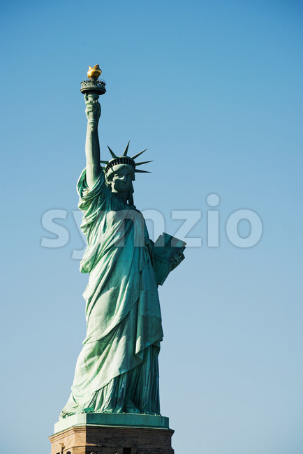 Statue Of Liberty National Monument in the New York City, USA Stock Photo
