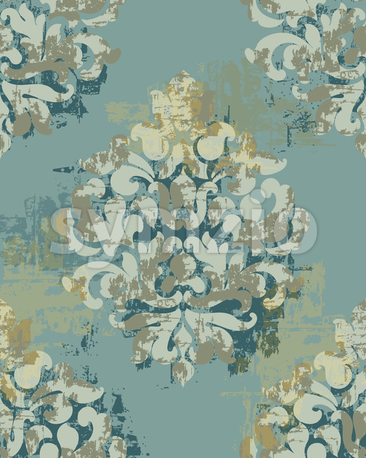 Baroque texture pattern. Floral decoration ornament. Vector