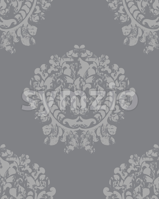 Vintage baroque background. Luxury texture. Elegant decoration. Vector Stock Vector