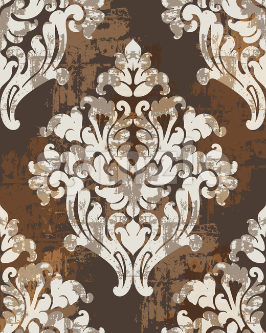 Classic antique style ornaments. Victorian luxury texture. Vector Stock Vector