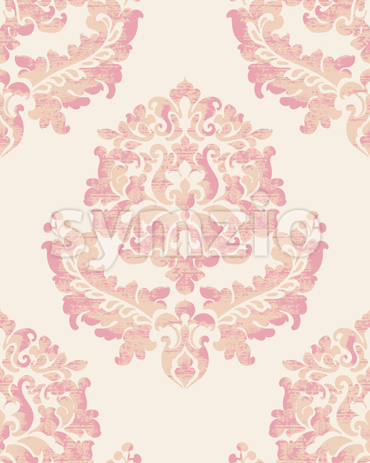Royal decor. Luxury vintage ornament pattern. Baroque design. Vector Stock Vector