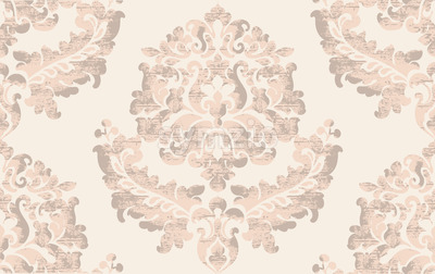 Luxury texture background. Floral decoration. Classic vintage decor. Vector Stock Vector