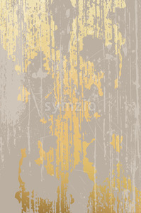 Grunge and scratches design, golden and beige background. Vector Stock Vector