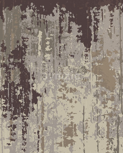 Old wallpaper texture. Peeling paint. Layers of different pale colors. Vector Stock Vector