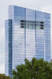 Millennium tower glass modern building in Boston, United States of America Stock Photo