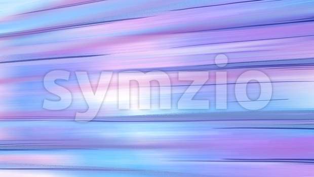Abstract design of fast speed motion in urban highway tunnel road. Blue colorful digital background raster illustration. Stock Photo