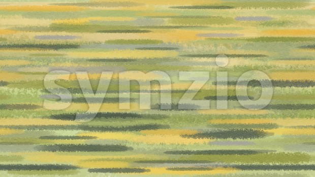 Spring abstract watercolor background. Motion blur green yellow transition lines.  Digital background raster illustration. Stock Photo