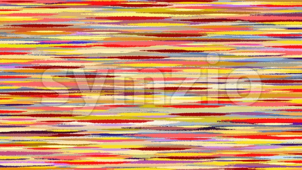 Summer abstract watercolor background. Motion blur pink purple yellow transition lines.  Digital background raster illustration. Stock Photo