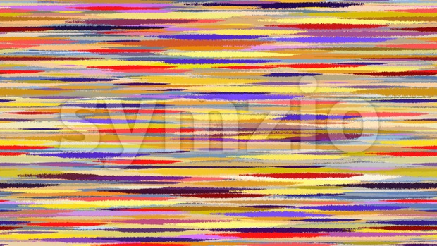 Summer abstract watercolor background. Motion blur blue red yellow transition lines.  Digital background raster illustration. Stock Photo