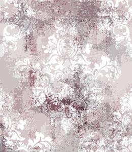 Baroque texture pattern Vector. Floral ornament decoration. Victorian engraved retro design. Vintage fabric decors. Luxury fabric Stock Vector